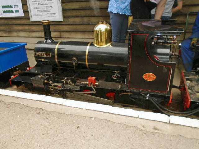 James Boyd engine in steam